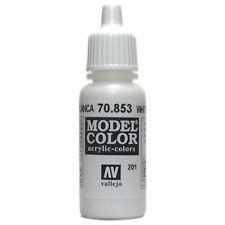 Vallejo Model Color: White Glaze - VAL70853 Acrylic Paint Bottle 17ml 201