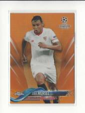 2017-18 Topps Chrome UEFA Champions League Orange Refractor #28 Luis Muriel /25