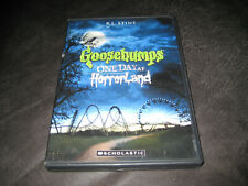 GOOSEBUMPS:  ONE DAY AT HORRORLAND (DVD, 2008) AC  PLAYS PERFECTLY  BARGAIN BIN