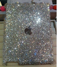 NEW Bling diamond Resin crystal For Apple iPad 2 3 4 hard case cover skin EE01