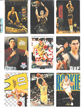 Rick Barry, Jon Barry, Drew Barry, Brent Barry -- 18 card lot with inserts (AA)