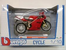 BURAGO 1/18 - MOTO DUCATI 998R
