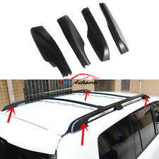 Roof Rack Bar Rail End Cover Shell 4P For Toyota Land Cruiser FJ200 LC200 08- 16