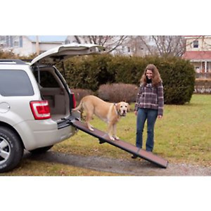 PetGear Pet Gear Travel Lite Tri Fold Dog Ramp Travel Assists Dog Mobility - NQP