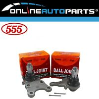2 Japanese 555 Lower Ball Joints suits Isuzu D-Max TFR85 TFS85 2008~2016 RWD 4X4