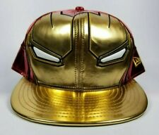 New Era Iron Man 3 Exclusive 59fifty Custom Fitted Hat Size 7 5/8 Marvel Comics