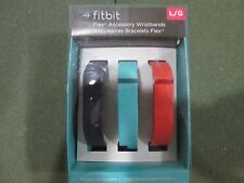 Fitbit Flex Wristband Accessory Pack.Size Large 3 Pack Brand New