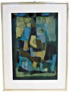 "PAUL STAUFFENEGER (SWISS, 1925-2016) aka ""STAUFFI"" MIXED MEDIA ON BOARD"