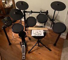 Alesis Nitro Kit | Electronic Drum Set with Swivel Stool & Drums Sticks