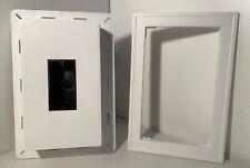 "J-Block Outlet Box Wet Location Electrical Large 12-1/2"" x 8-1/2"" PlyGem White"