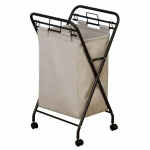 Rolling Laundry Hamper with Lift-Out Bag