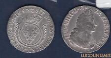 Louis XIV, 1643-1715 – Ecu aux Palmes 1697 X Amiens TTB R2 Réformation