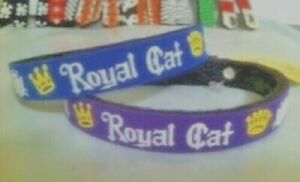 Beastie Band Cat Collars - =^..^= Purrfectly Comfy - ROYAL CAT