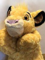 Disney Parks  Simba  Pillow Pal of Lion King  Cub Fold Up Plush Stuffed Animal