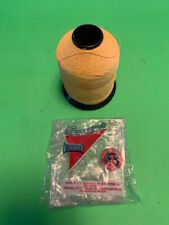 Gudebrod Ncp Size C Yellow Nylon Rod Wrapping Thread 4 Ounce Spool <(O)>< L@K