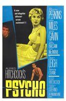 Psycho Movie Poster Print Wall Art Photo 8x10 11x17 16x20 22x28 24x36 27x40