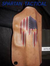 Smith &Wesson M&P Shield  SPARTAN FLAG Custom Kydex Holster