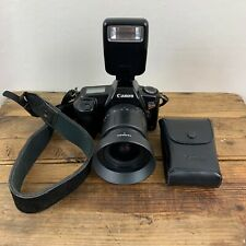 Canon EOS Rebel 35mm SLR Film II macchina fotografica con lenti Tamron 28-80mm 200E Flash