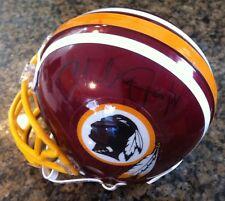 CHARLEY TAYLOR (HOF 1984), Washington Redskins, signed mini helmet