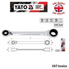 Yato profesional doble Llave de Trinquete Llave 4 en 1 10x13x17x19 mm YT-4945