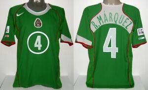 NIKE MEXICO MARQUEZ HOME CONFEDERATIONS CUP 2005 S ORIGINAL JERSEY SHIRT