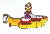 """Beatles/Yellow Submarine Logo 3.5"""" Wide Embroidered  Patch- FREE S&H (YSPA-01)"""