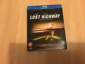 David Lynch lost Highway Blu-ray in slipcase