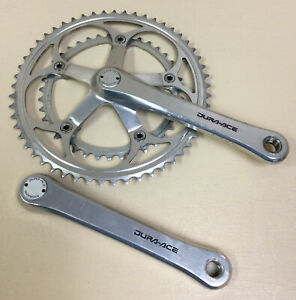 SHIMANO DURA ACE CRANKSET 7402 DOUBLE 175 MM 53-39T