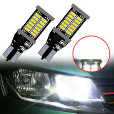 2x T15 904 912 30-SMD LED Car Trunk Backup Reverse Lights Lamp Bulbs Accessories