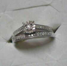 Diamond Wedding Set  Sz. 9  47 diamonds .45tcw MSRP$899