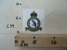 STICKER,DECAL DUTCH SQUADRON ROYAL AIR FORCE NIET PRATEN MAAR DOEN PAPAGAAI