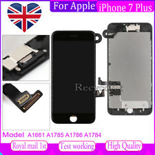 For iPhone 7 Plus Screen Replacement LCD Touch Digitizer Assembly Black & Camera