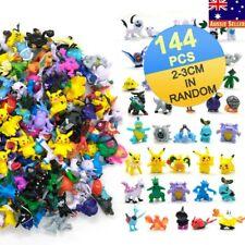 144pcs Random Pokemon Monster Figures Toys Mini Pikachu Mixed Gift Toys 2-3cm