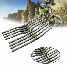 Carbon Fiber Bike Handlebar MTB Road Bicycle Durable Ultralight Flat Riser Bar