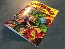 FACSIMILE COVER ONLY - AMAZING MAN #22 golden age MINT NEW CONDITION!!!