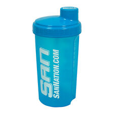 SAN Neon Blue Protein Shaker Bottle Cup 25oz optimum animal ONLY 1 AVAILABLE