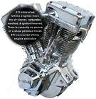 """ULTIMA EFI CONVERTED POLISHED FINISH 113"""" OR 127"""" EVO LONG BLOCK ENGINE MOTOR"""