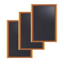 "Brunton Solarflat 2w 12v 12x5x.075"" Amorphous Solar Panels 3/Pack"