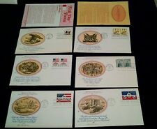 Set 18 1975 1976 1977 Fleetwood Cachet FDC Vignettes of Americana New Postage