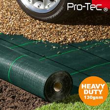 More details for 130gms commercial weed control fabric super heavy duty garden landscape membrane