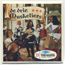 De Drie Musketiers The Three Musketeers MINT ViewMaster Packet B-426-N Dutch