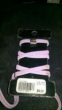 Lavender  Leather Motorcycle Riding Ponytail  Wrap.