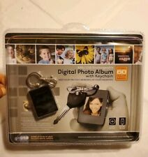 Digital Photo Album With Keychain 8Mb/USB Rechargeable 1.4 Inch High Res LCD
