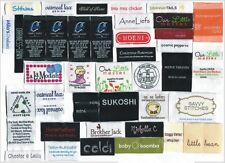 2400 custom artwork woven labels personalized clothing labels Premium Quality