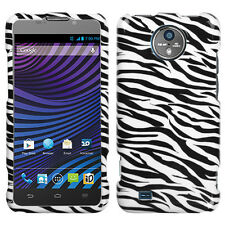 For Sprint Vital ZTE N9810 HARD Protector Case Snap on Phone Cover Zebra