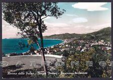 SAVONA BORGIO VEREZZI 24 Cartolina FOTOGRAFICA viaggiata 1963