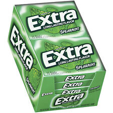 Extra Spearmint Sugar Free Gum - 10 pks (pack of 3) Total 30 Packs