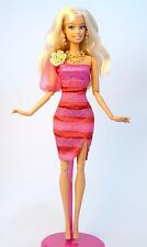Set of Barbie Doll Party dress Casual wear clothes Outfit n Jewelry Set S100011
