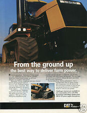 1996 Caterpillar CAT Mobil-trac Challenger Farm Tractor Print Ad