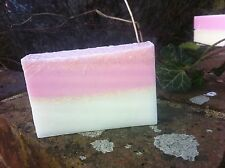 Pamper Cafe Handmade Gift Soap Cold Process Coconut Ice 110 Grams